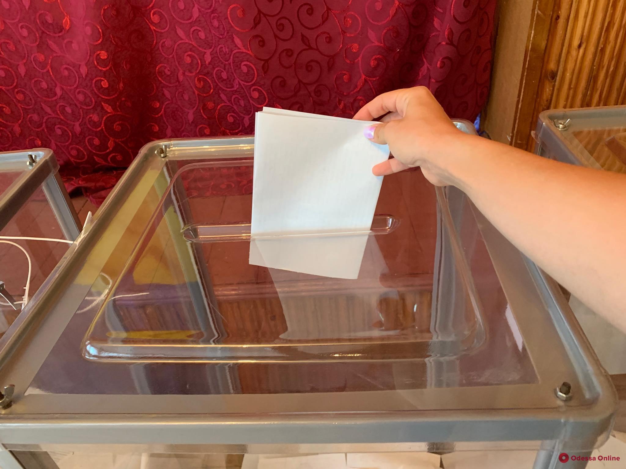 В Одесской области проходят выборы в ОТГ