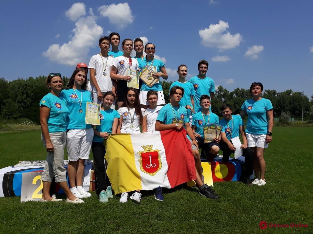Одесситы успешно выступили во всеукраинском турнире по стрельбе из лука