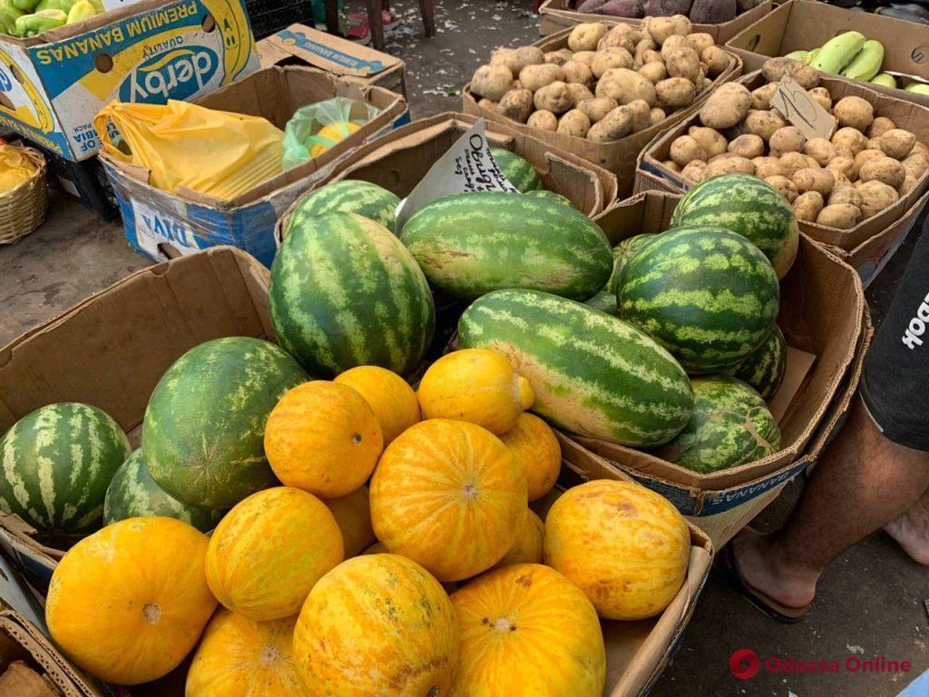 Момордика, инжир и черри: воскресные цены на одесском «Привозе»