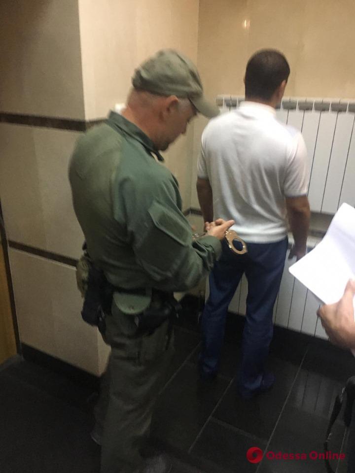 В столице задержали экс-замначальника Нацполиции в Одесской области