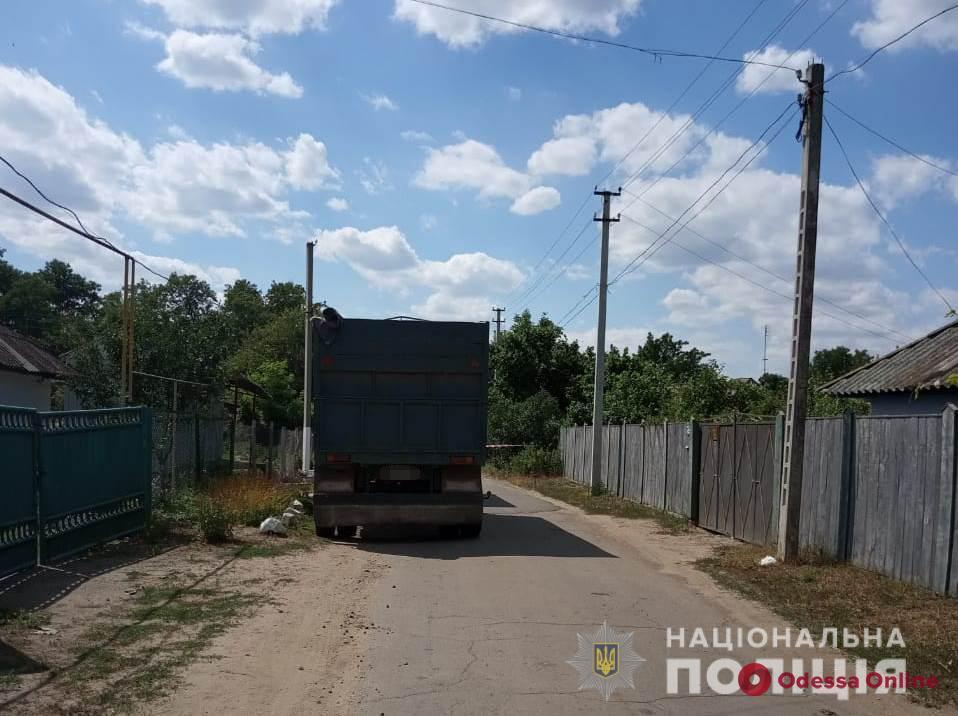 В Одесской области КамАЗ насмерть сбил велосипедиста