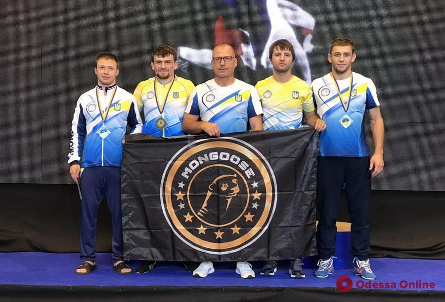 Одесские борцы завоевали шесть медалей чемпионата Украины
