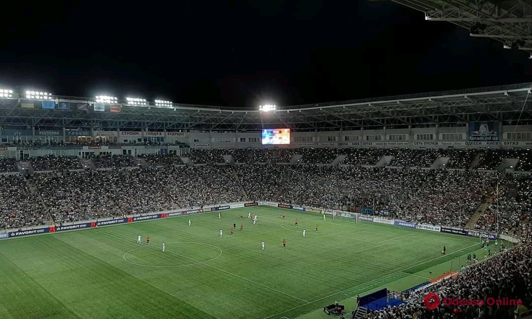 Суперкубок Украины в Одессе: трофей завоевало киевское «Динамо»