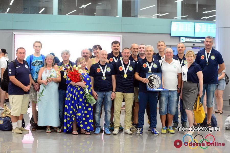 Гандбол: одесситы уверенно выиграли Европейские игры мастеров в Италии