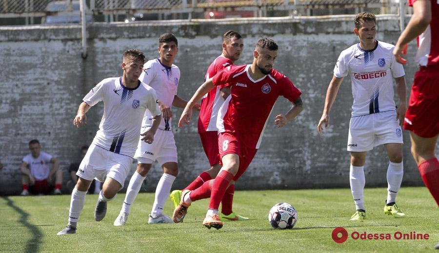 Футбол: «резервисты» «Черноморца» провели дерби с «Реалом Фармой»