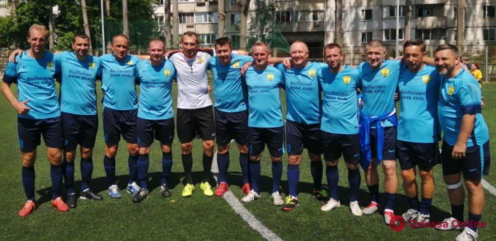 Косырин и Полтавец принесли одесситам победу в международном турнире по футболу