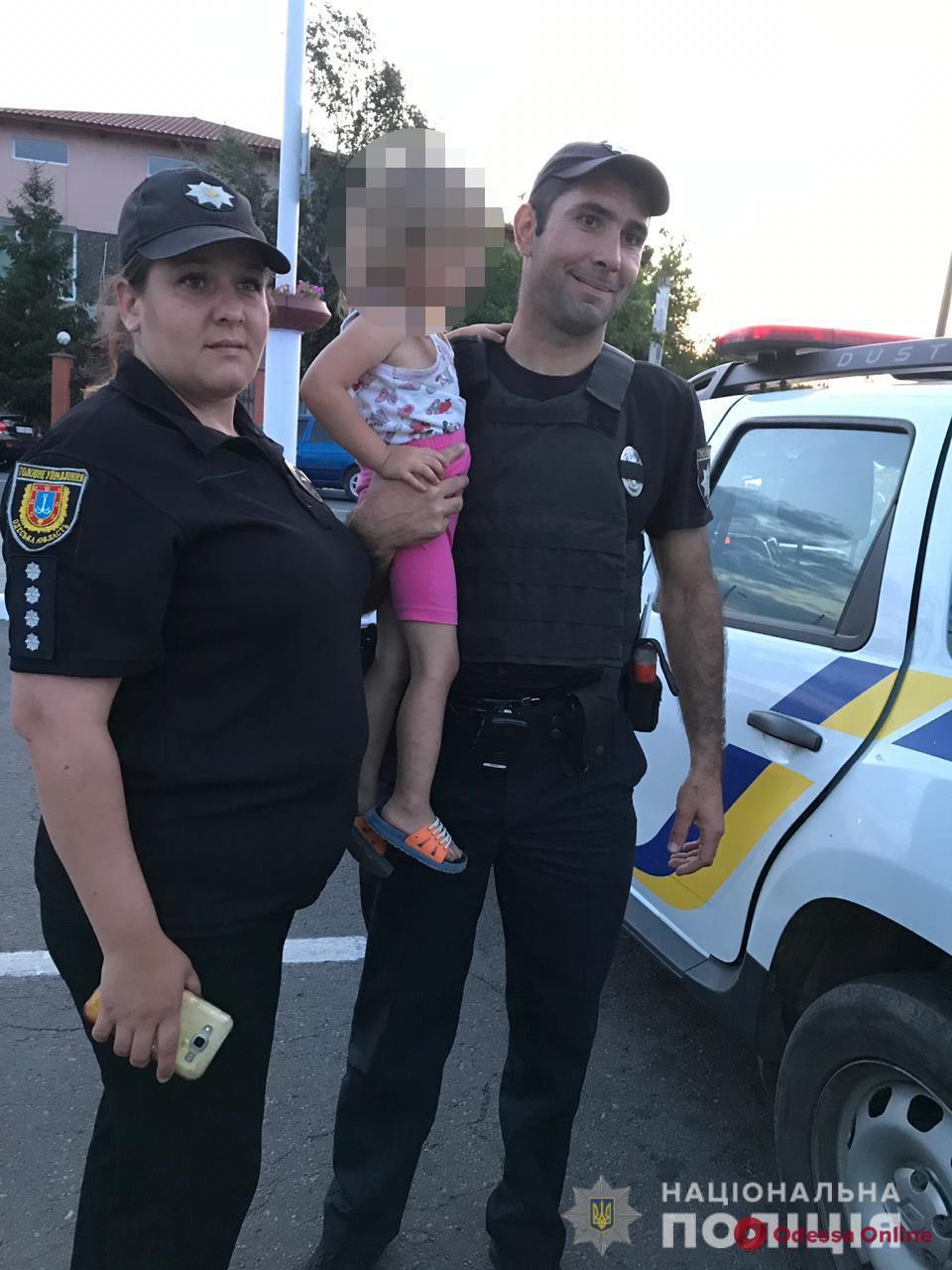 Жительница Одесской области доверила дочку безответственной родственнице: ребенок едва не пострадал