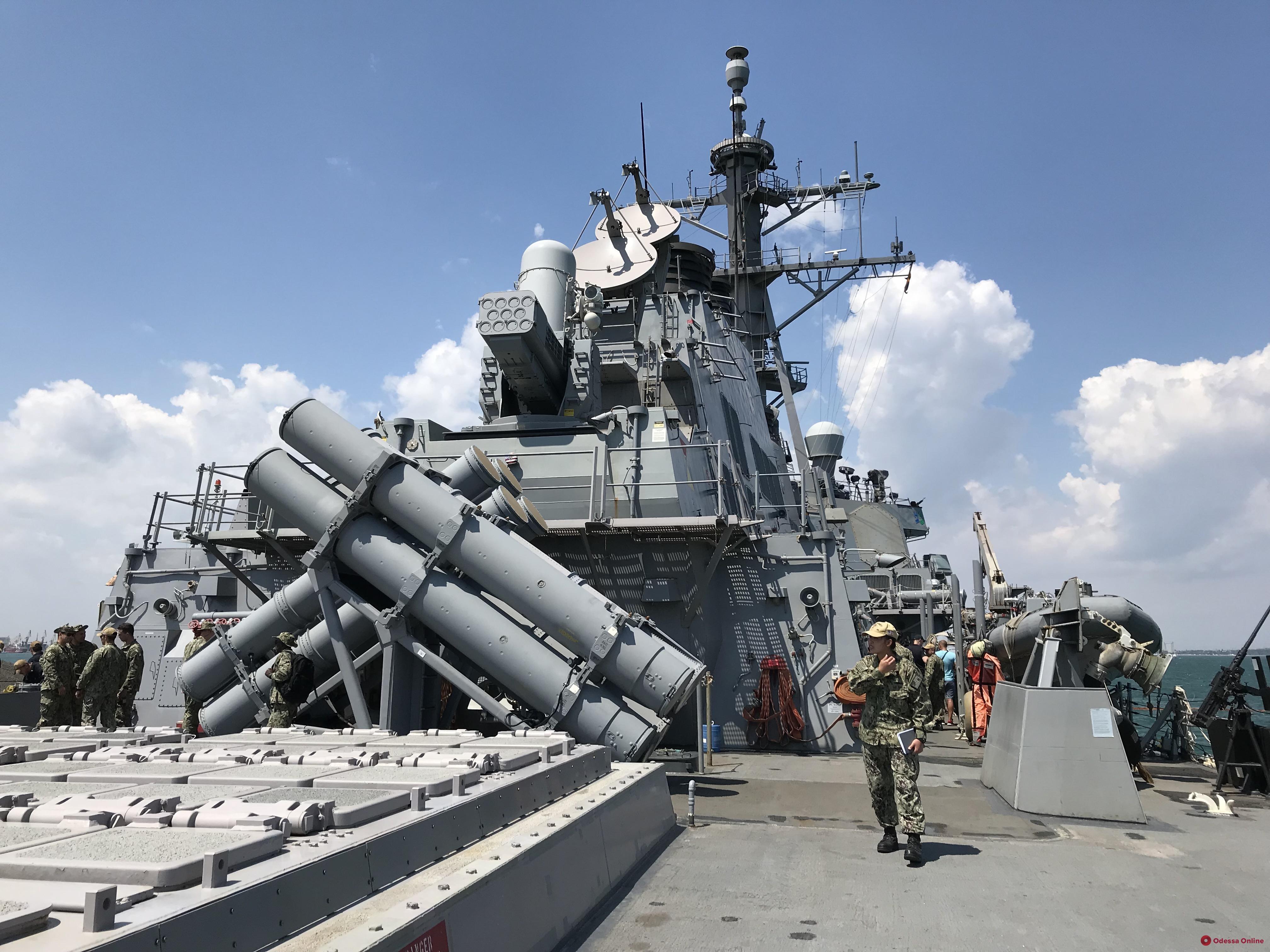 В Одессе продолжаются военно-морские учения «Си Бриз-2019» (фото, видео)