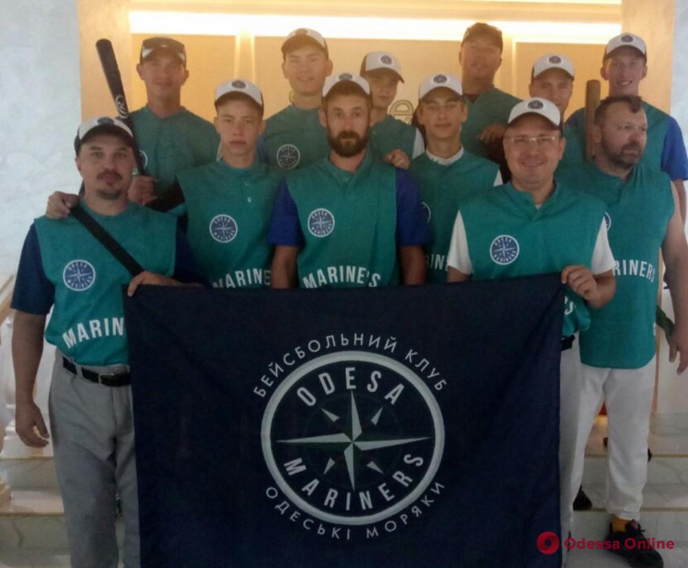 Бейсбол: одесские «Моряки» героически выиграли Южную группу чемпионата Украины