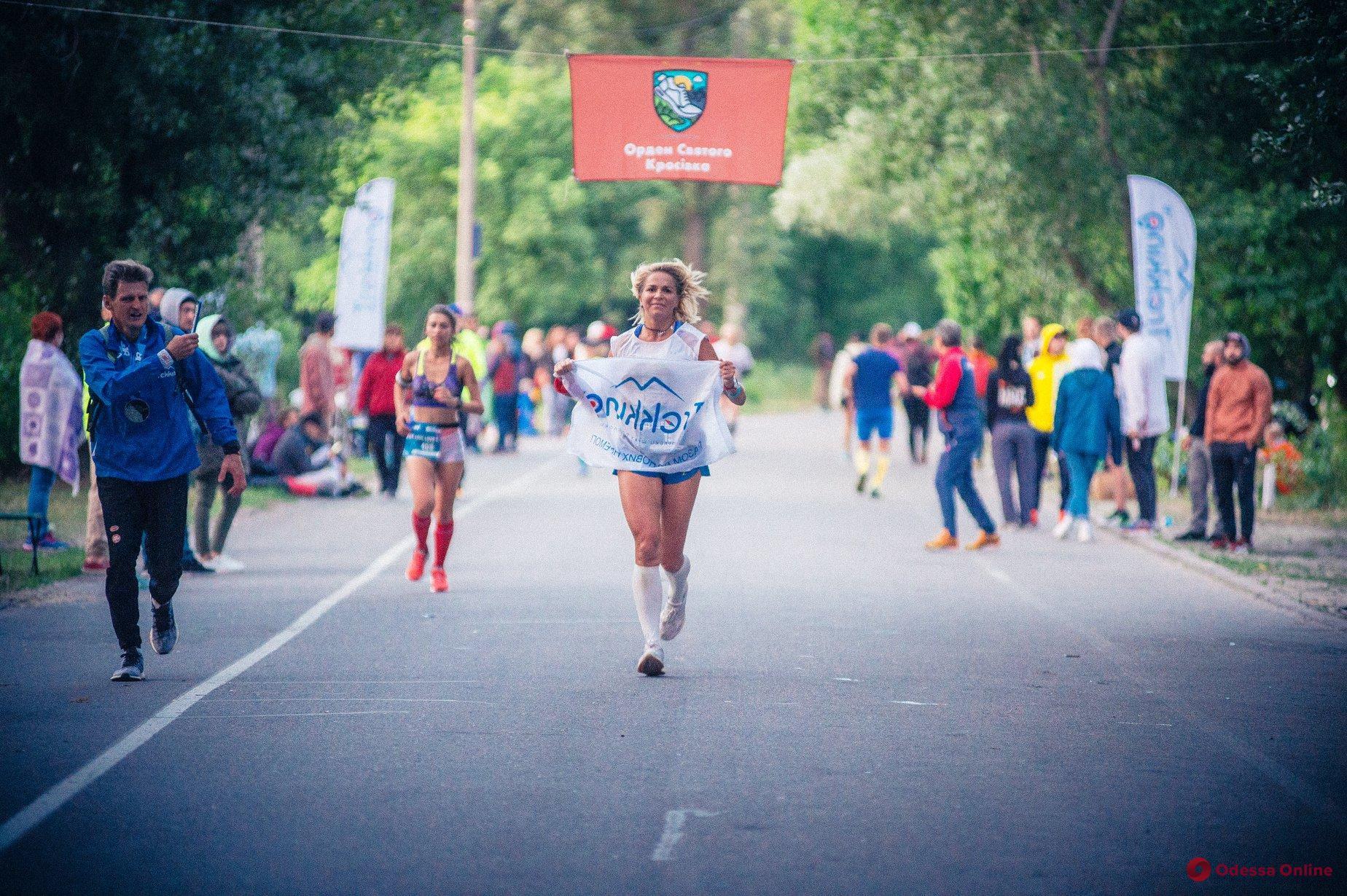 Одесситка выиграла 100-километровый ультрамарафон в Киеве