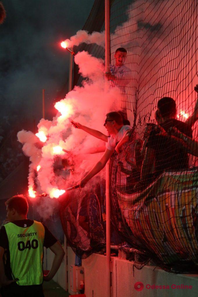 Суперкубок Украины в Одессе: яркие моменты воскресного матча