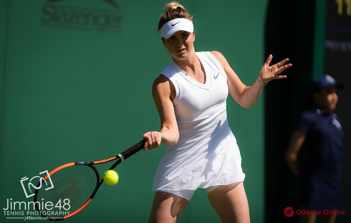 Теннис: уроженка Одессы благодаря травме соперницы вышла в третий раунд Уимблдона
