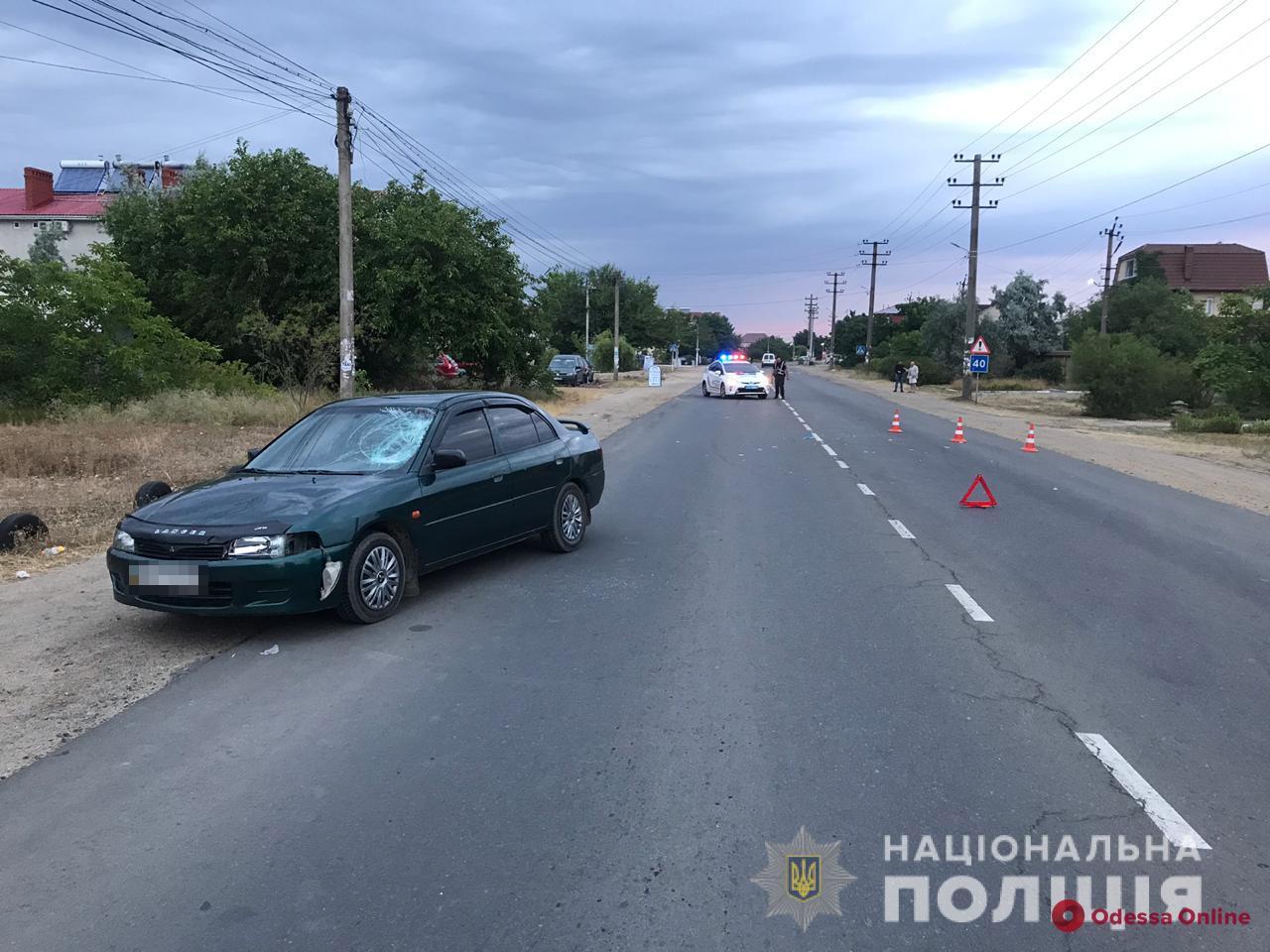 В Затоке автомобиль сбил туриста из Кировоградской области