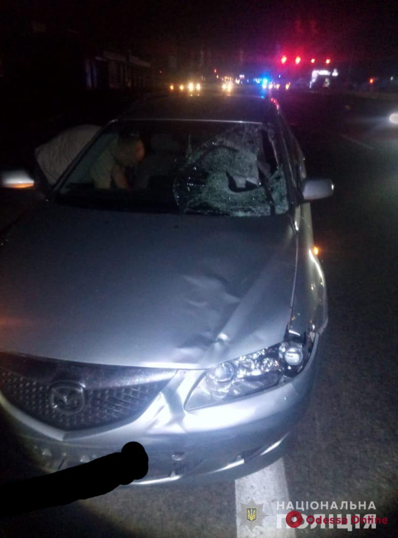 Возле «7-го километра» Mazda насмерть сбила пешехода