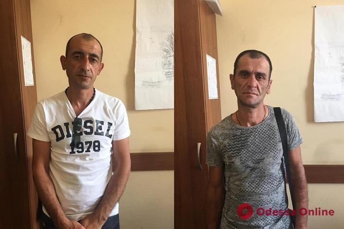 Под Одессой поймали грузинских барсеточников