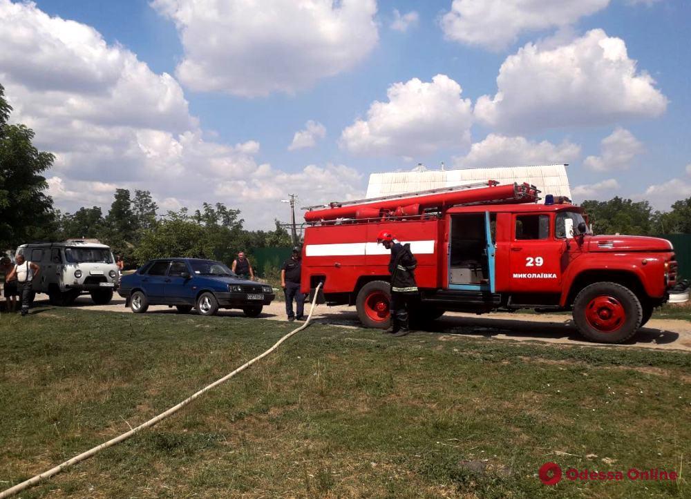 В Одесской области на пепелище обнаружили тела матери и сына