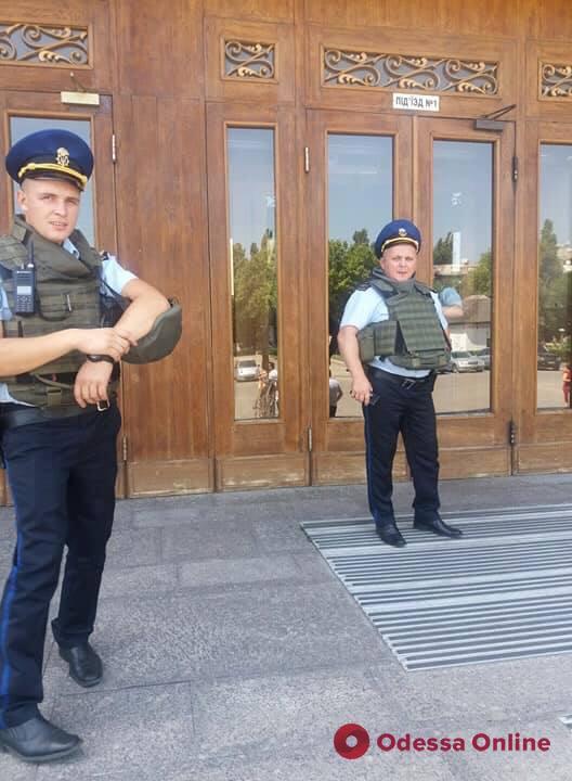 В Одессе «заминировали» здание облгосадминистрации