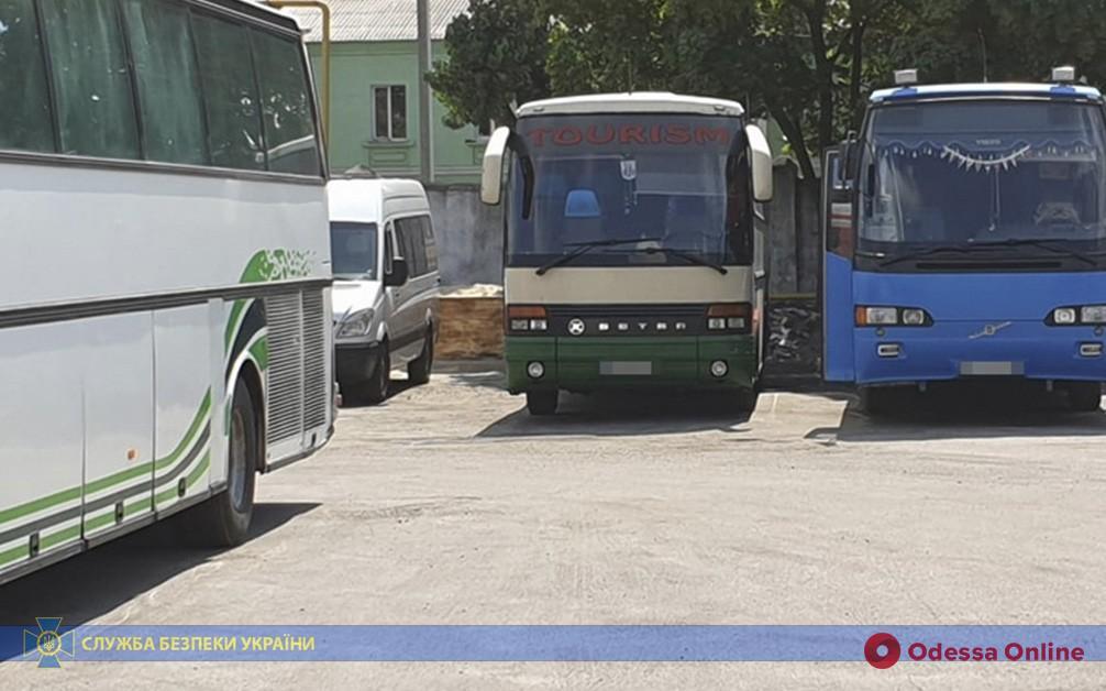 Возили в «ЛНР»: в Одессе блокировали незаконные пассажирские перевозки