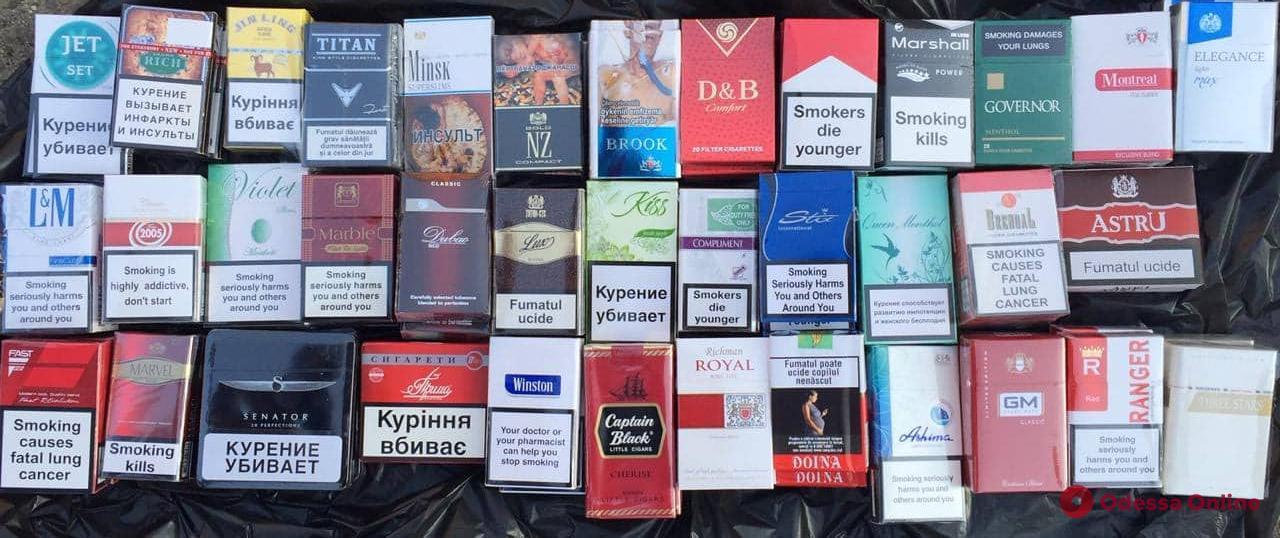 В Одессе блокировали контрабанду сигарет на 6 миллионов (видео)