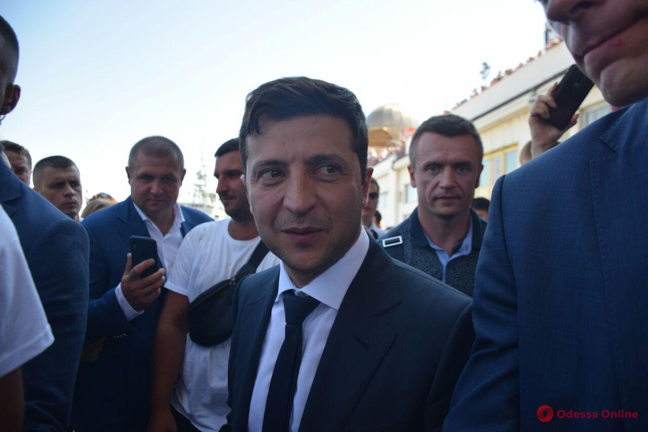 В Одесскую область снова едет президент