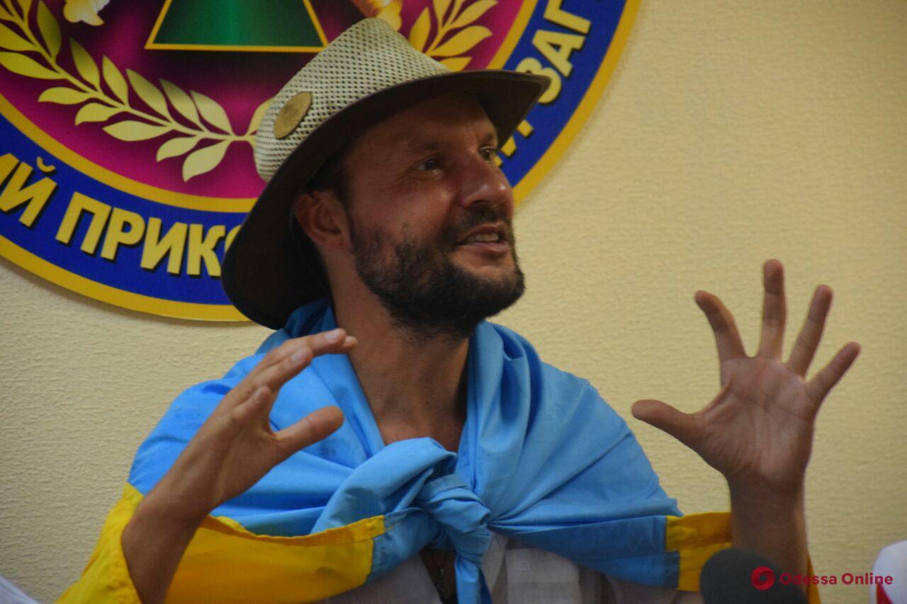 Шесть континентов за девять месяцев — в Украину с рекордом вернулся знаменитый путешественник