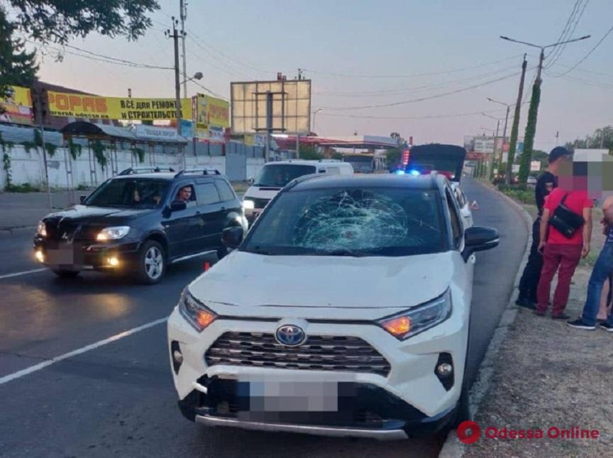 На Южной дороге Toyota сбила пешехода