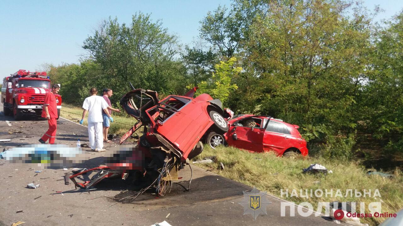 В Одесской области произошло тройное ДТП — погибли четыре человека