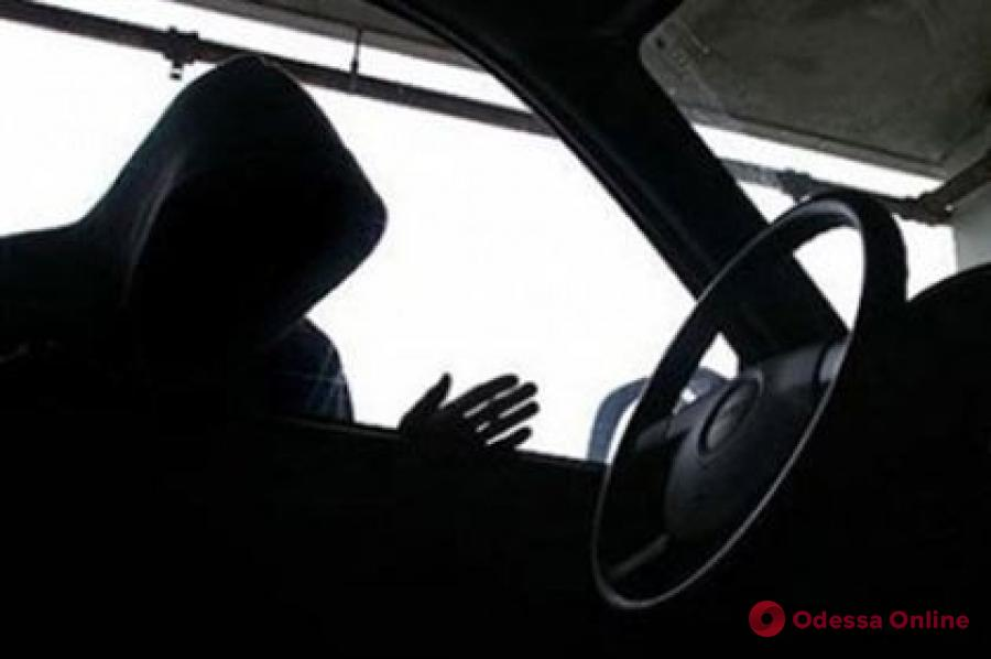 В Одессе поймали находчивого автоугонщика
