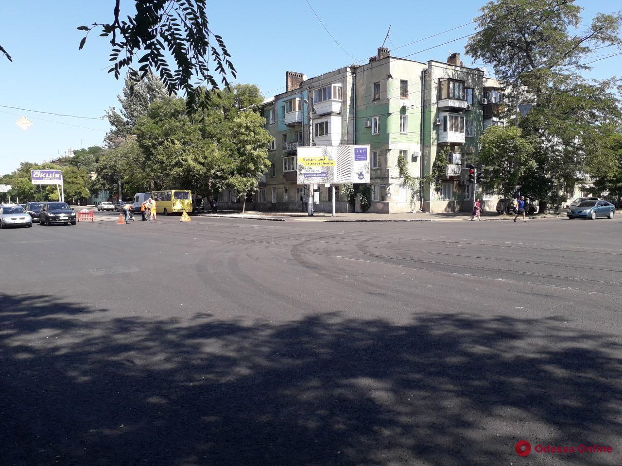 На пересечении Прохоровской и Мясоедовской возобновлено движение транспорта