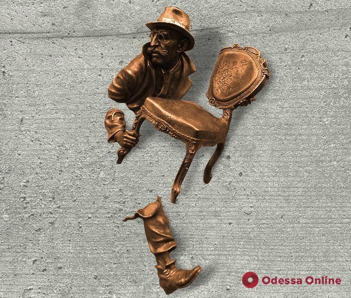 В Одессе появится 3D барельеф с Кисой Воробьяниновым