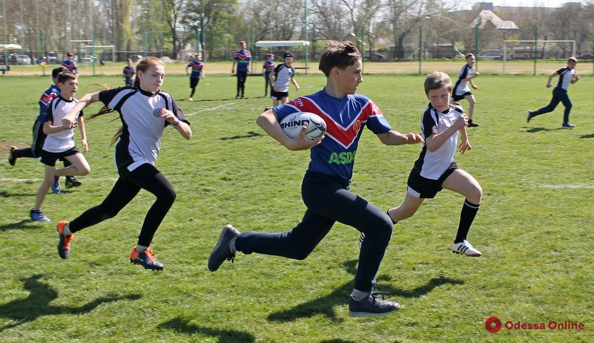 На поселке Котовского пройдет детский регбийный фестиваль