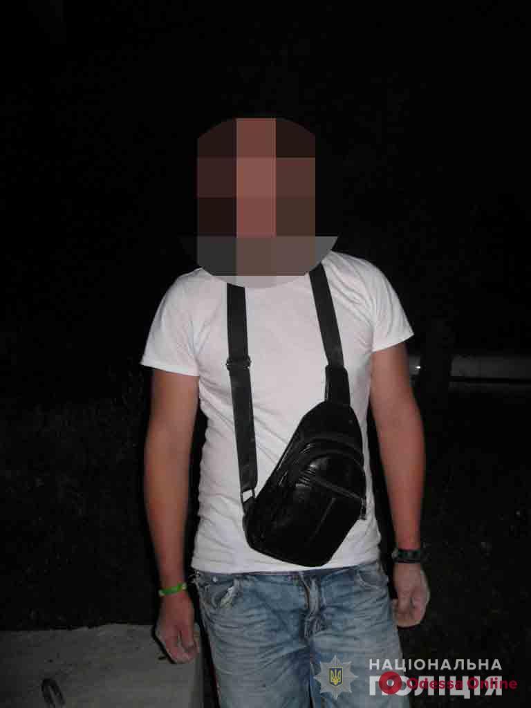 На курорте в Одесской области поймали очередного любителя амфетамина и марихуаны