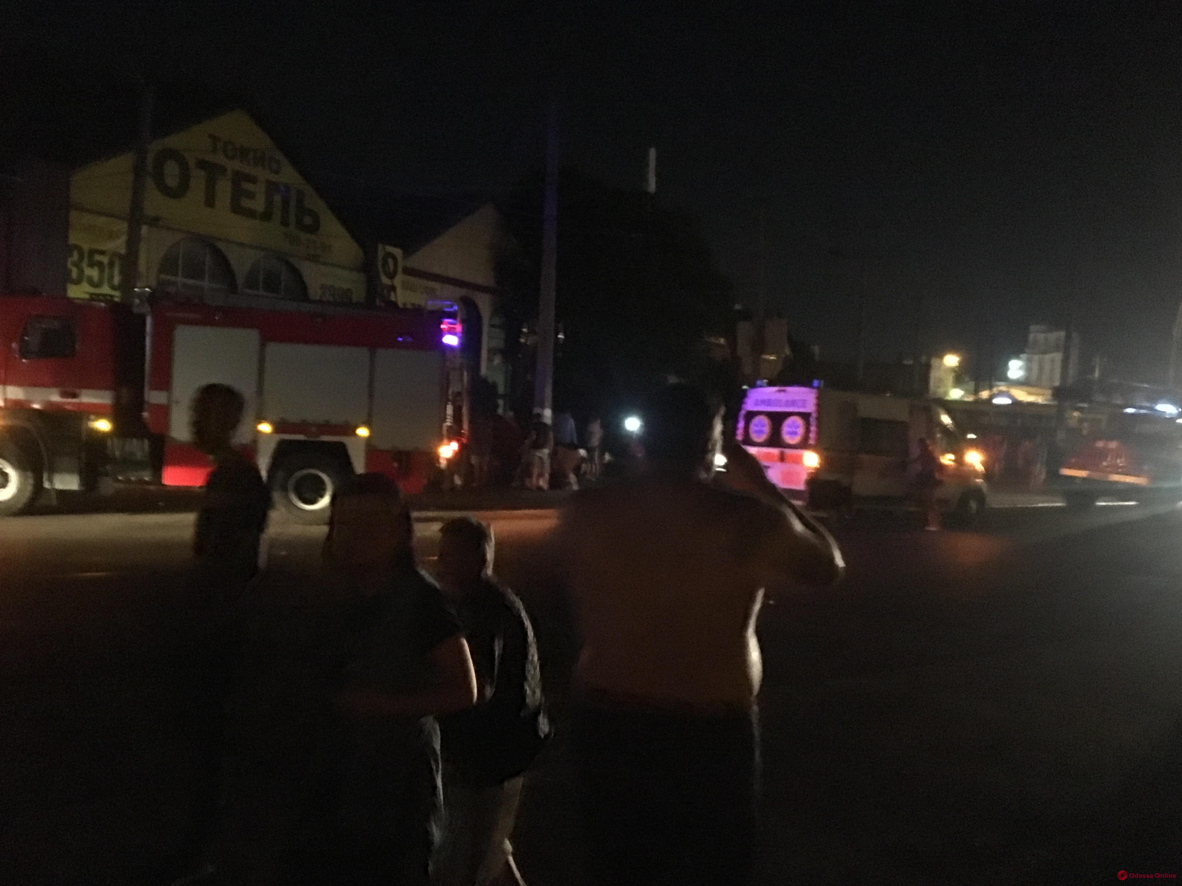 Пожар на Водопроводной: огонь не нанес серьезного ущерба помещениям «Одесгорэлектротранса»
