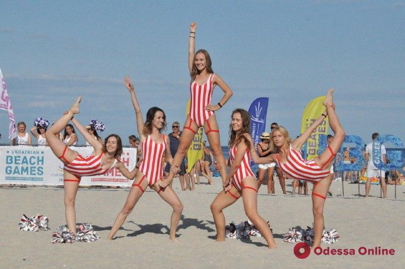 В Одессе прошел Всеукраинский фестиваль пляжных видов спорта