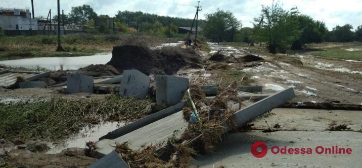 В Одесской области мужчина не смог спастись от селевого потока и утонул