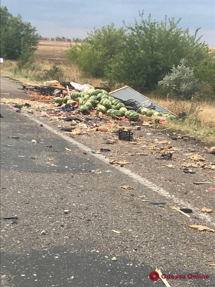 В Одесской области Mercedes вылетел на обочину и сбил насмерть двух человек