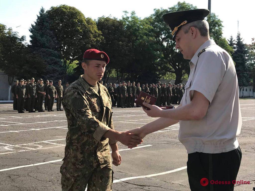 Одесское подразделение Нацгвардии отметило 75-летний юбилей