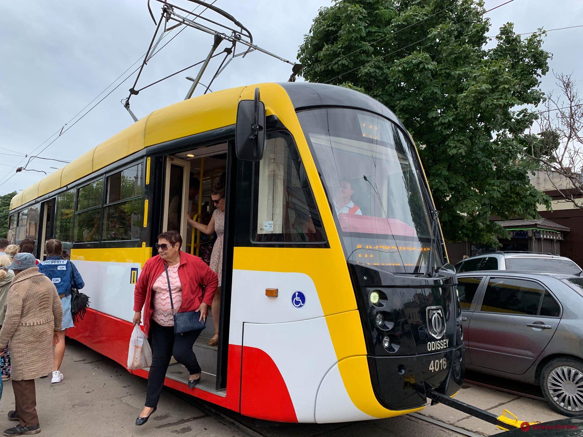 В Одессе временно не будет ходить трамвай №19