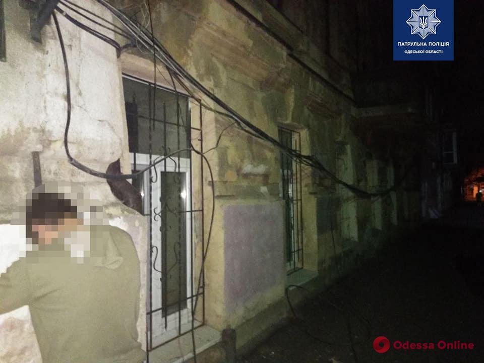 Ночью в Одессе поймали похитителей электропроводов