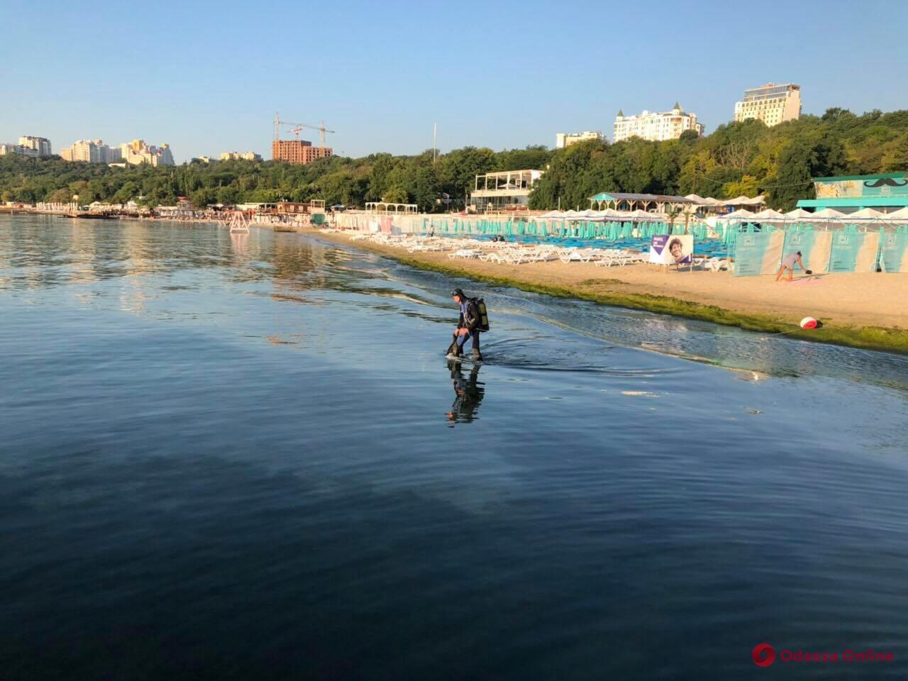 На пляже «Отрада» утонул мужчина