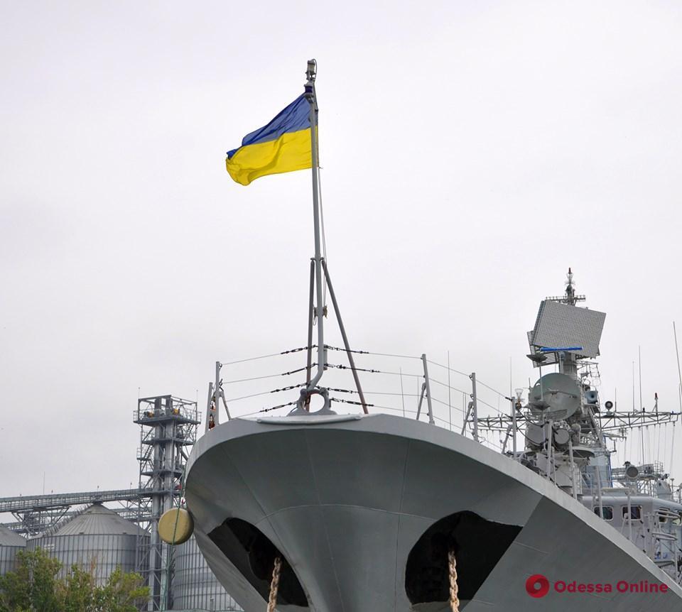 Одесситов приглашают посетить военные корабли