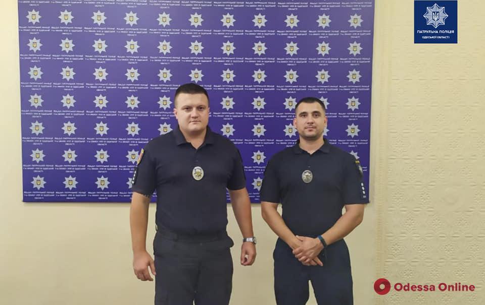 В Измаиле сменилось руководство патрульной полиции