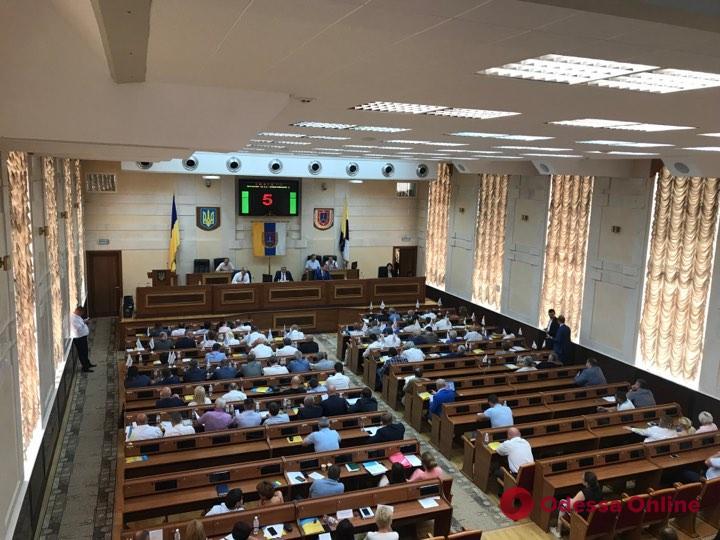 Сессия Одесского облсовета: Анатолий Урбанский снял вопрос о собственной отставке