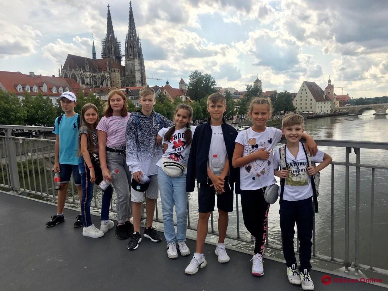 Одесских школьников пригласили в Германию