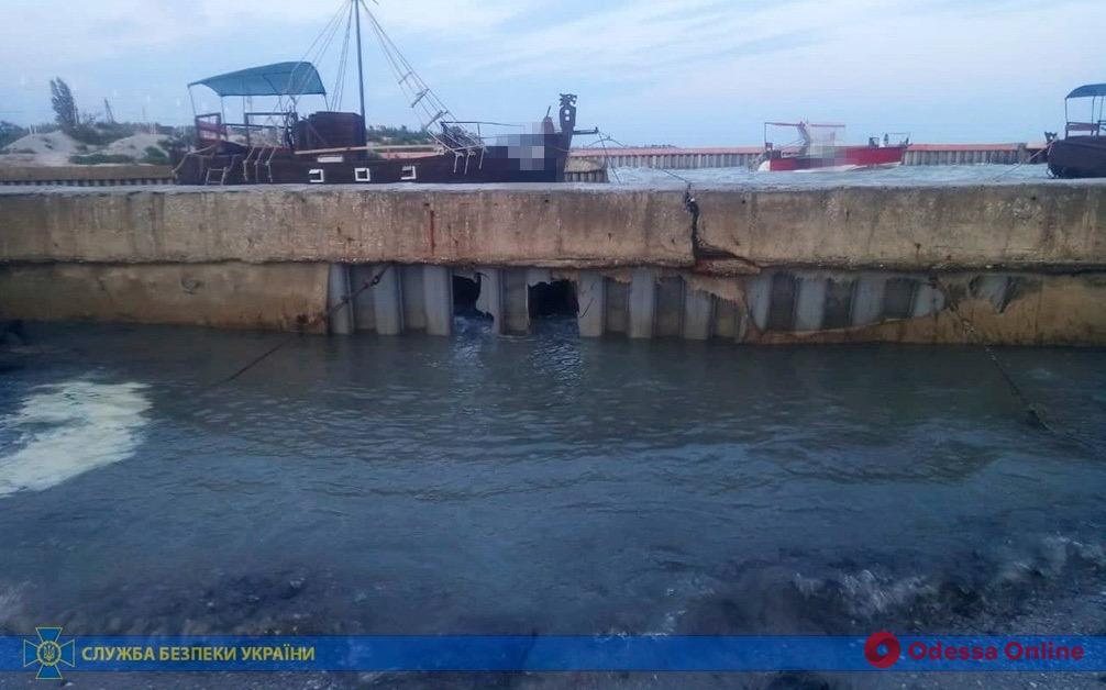 Реконструкция канала под Одессой: СБУ задержала депутата облсовета