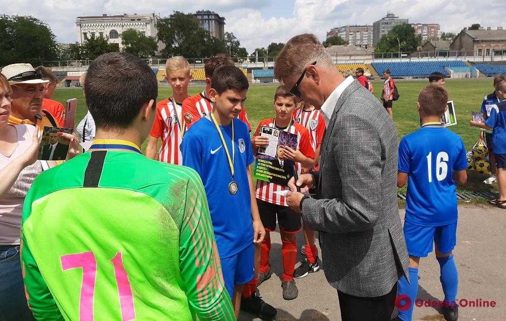 В Одессе состоялся футбольный турнир на призы Леонида Буряка