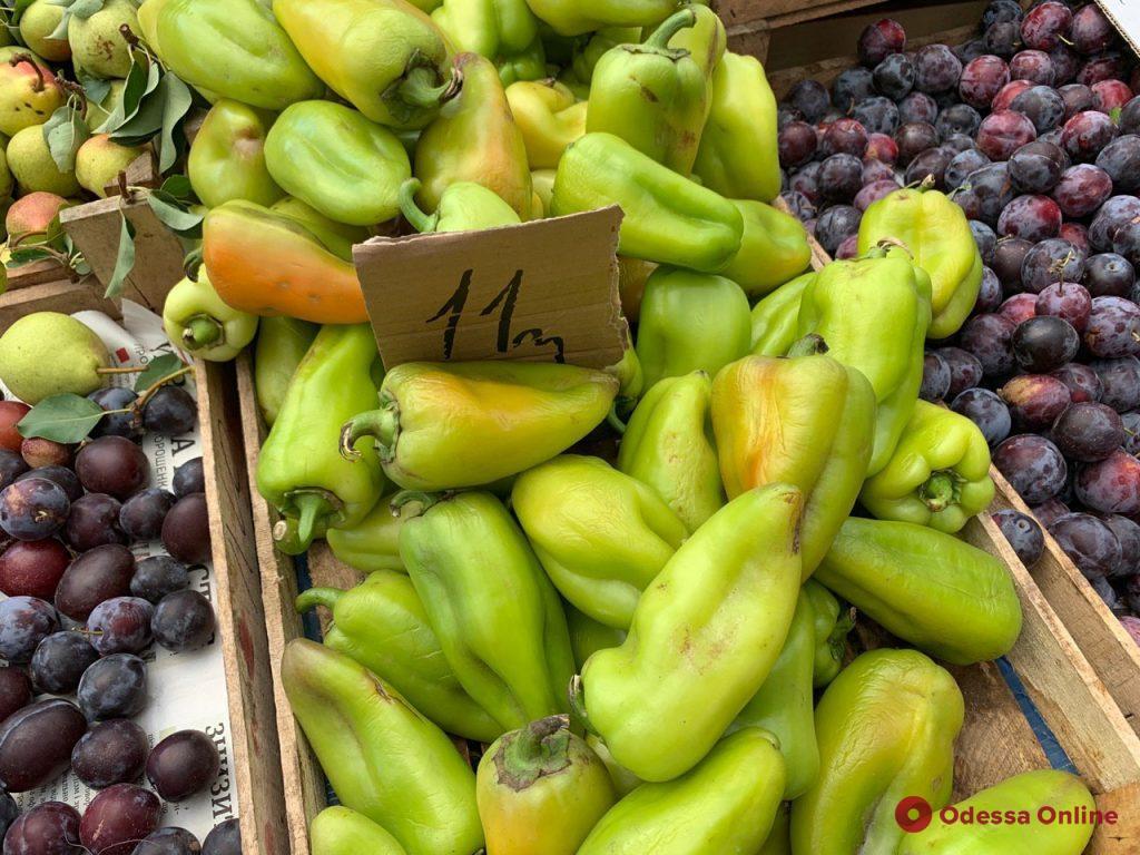 Рябина, кабачки и брокколи: воскресные цены на одесском Привозе