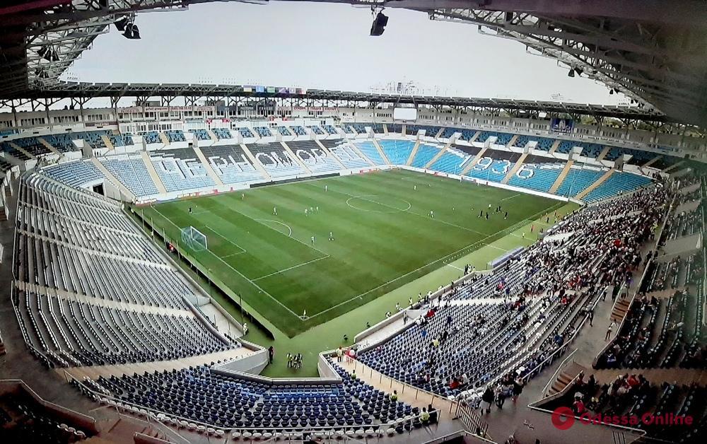 Помещения стадиона «Черноморец» снова попытаются продать с молотка