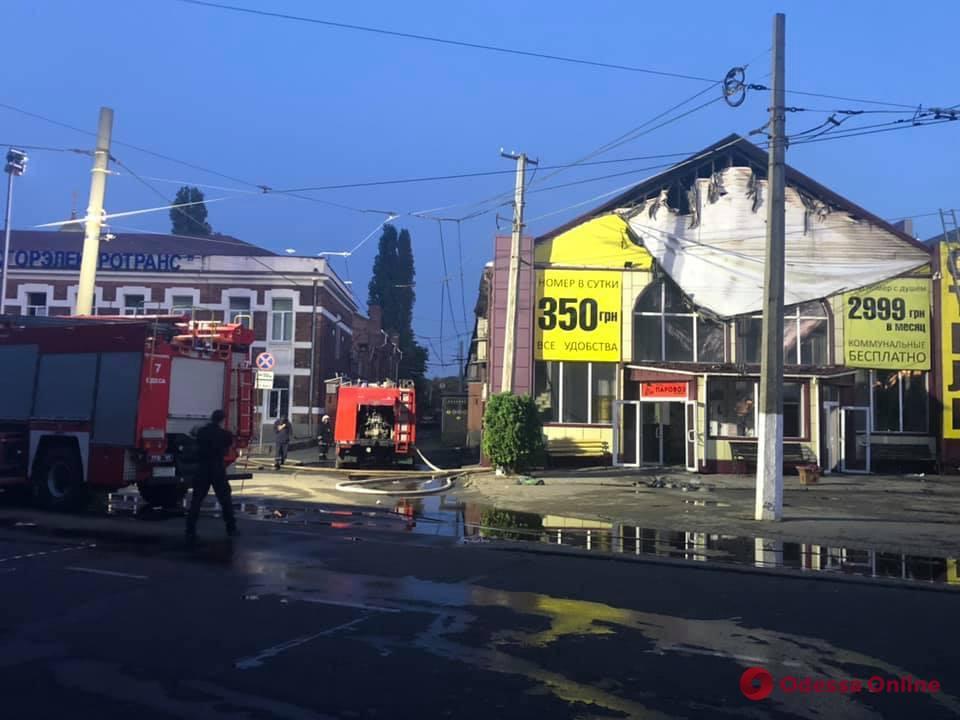 Одесса: при пожаре в отеле «Токио Стар» погибли восемь человек