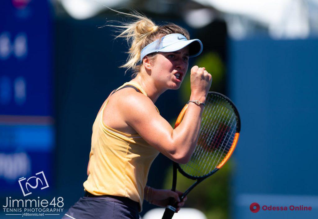 Теннис: еще одна уроженка Одессы вышла в 1/8 финала турнира в Торонто